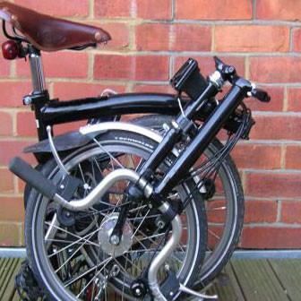 la mia nuova bici pieghevole